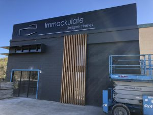 Immackulate Designer Homes - Kawana signs Sunshine Coast